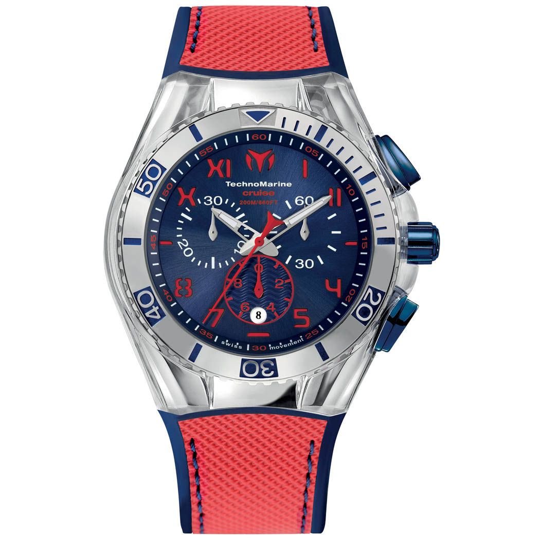 Technomarine Cruise California Rouge