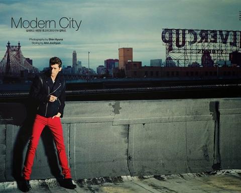 Modern City - Arena Homme+ Korea & Sean O'Pry