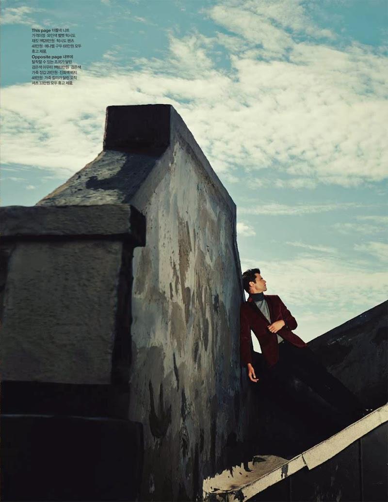 Sean O'Pry - Arena Homme+ Korea