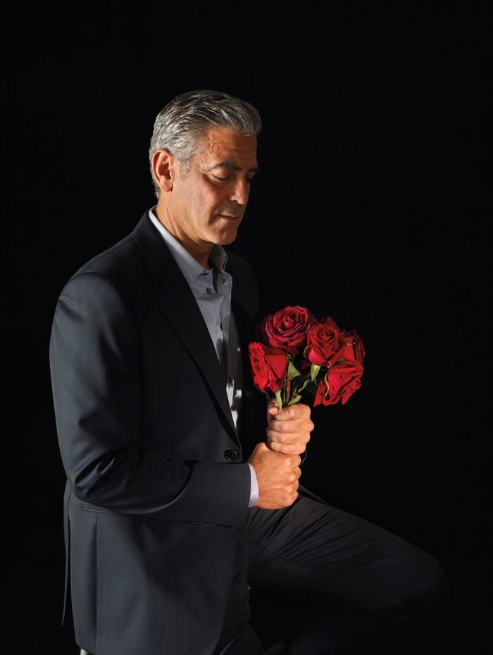 George CLooney - W Magazine