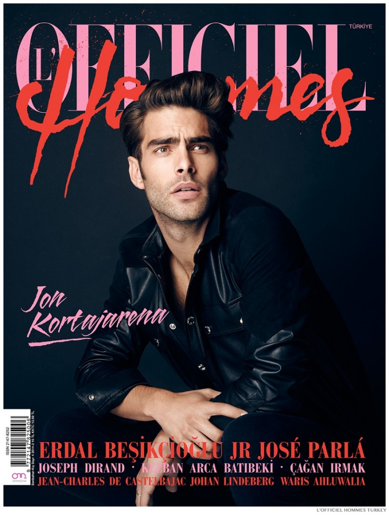 Jon Kortajarena - L'Officiel Hommes Turkey