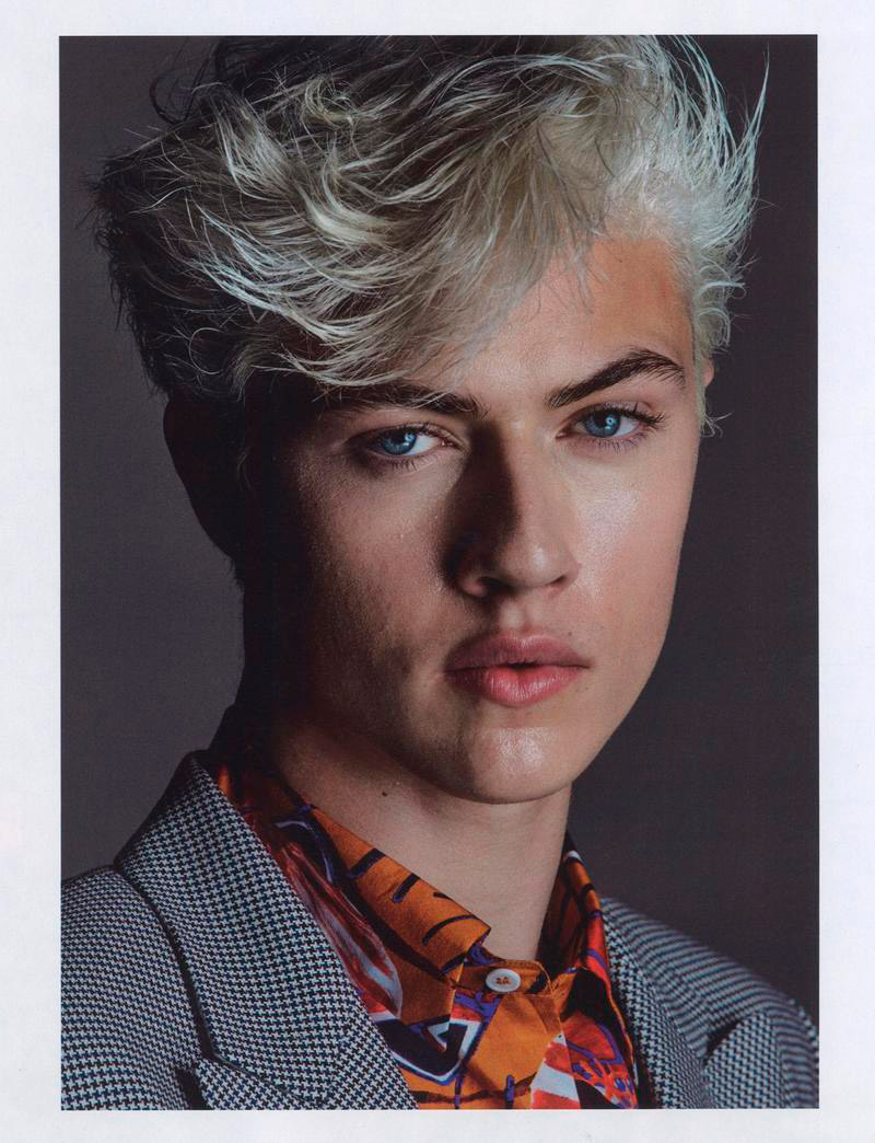 Lucky Blue Smith - Jalouse Magazine