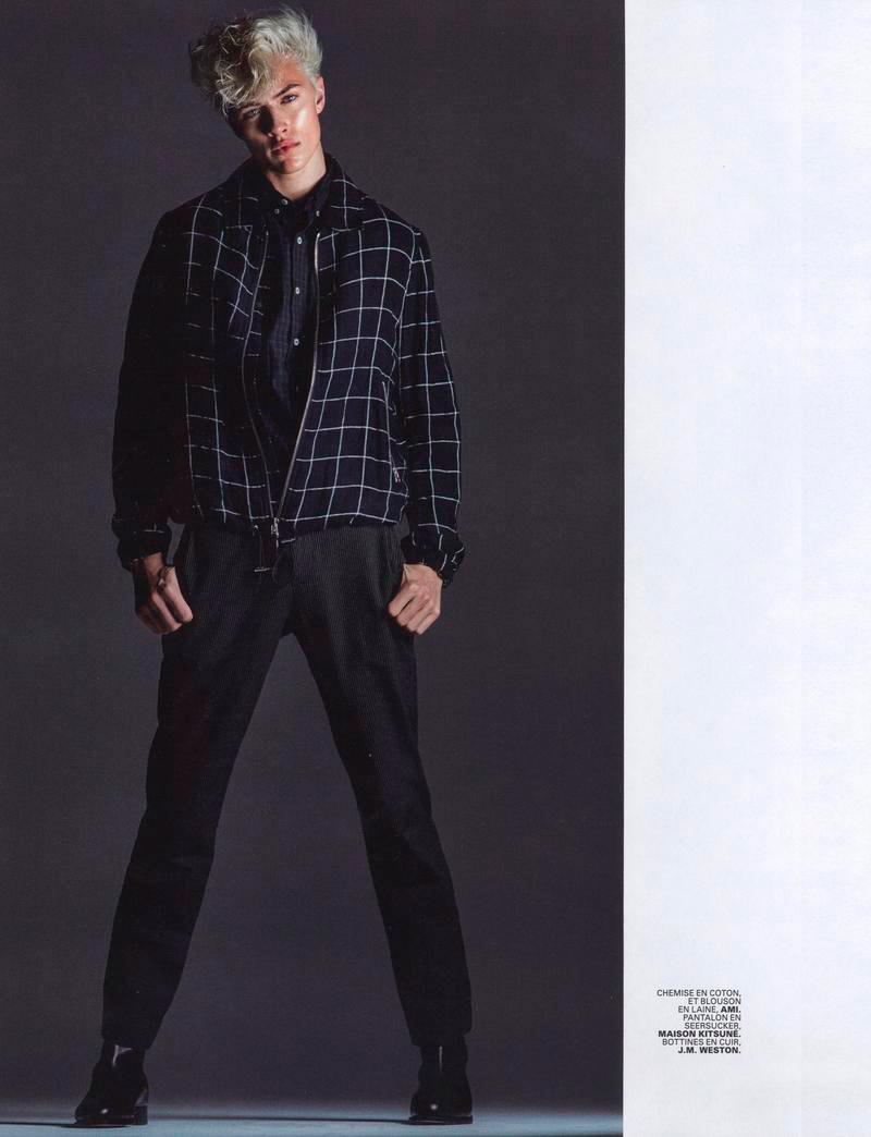 Lucky Blue Smith - Jalouse Magazine