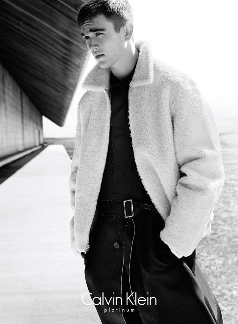 Gabriel Day-Lewis Calvin Klein Platinum Fall-Winter 2015 Campaign