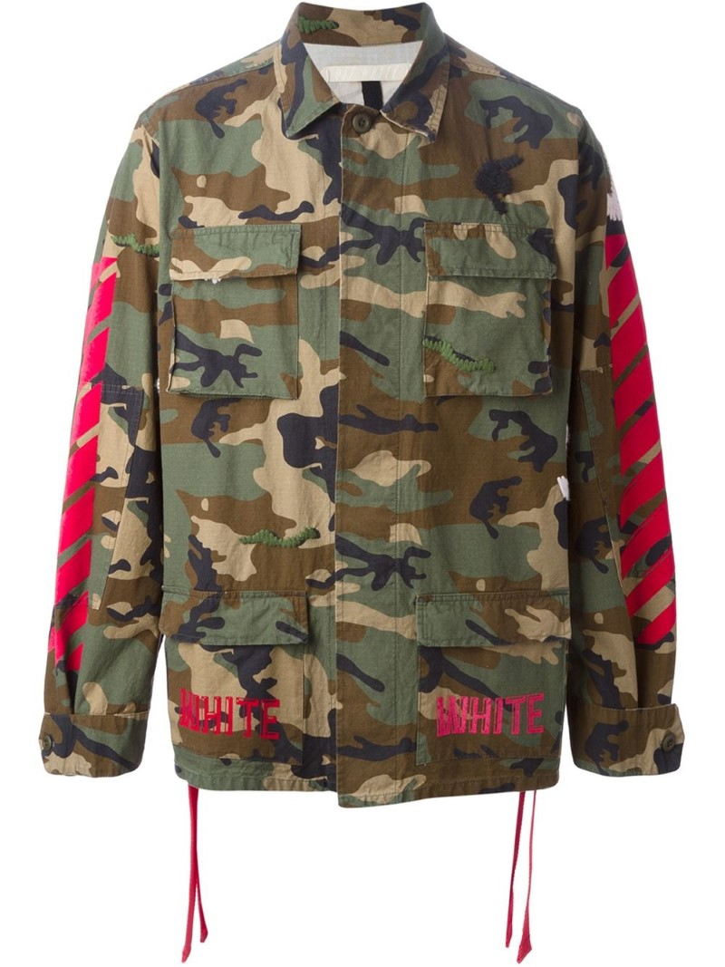 Off-White Camouflage Blouson