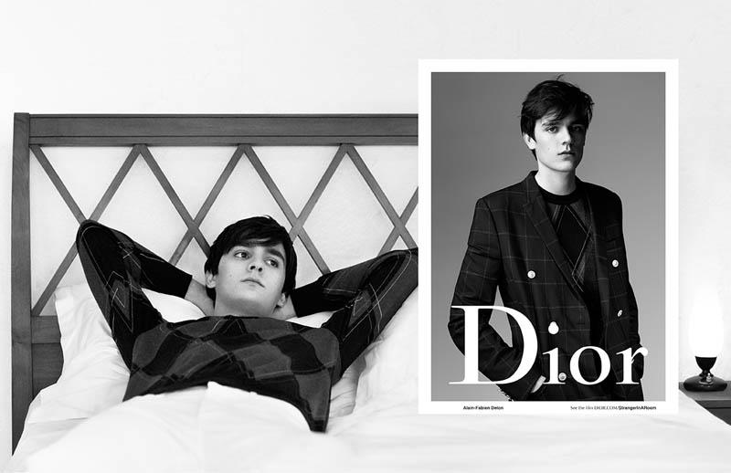 Kris Van Assche x Willy Vanderperre - Dior Homme SS16 - Alain-Fabien Delon