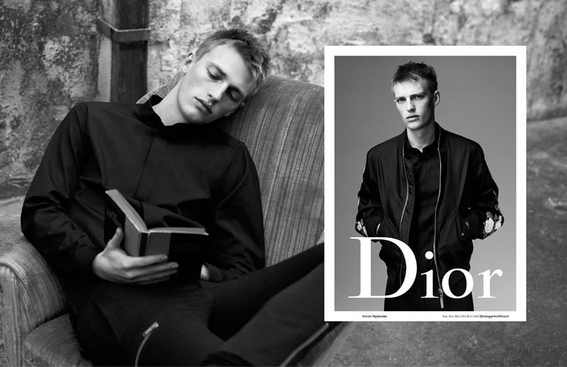 Kris Van Assche x Willy Vanderperre - Dior Homme SS16 - Victor Nylander