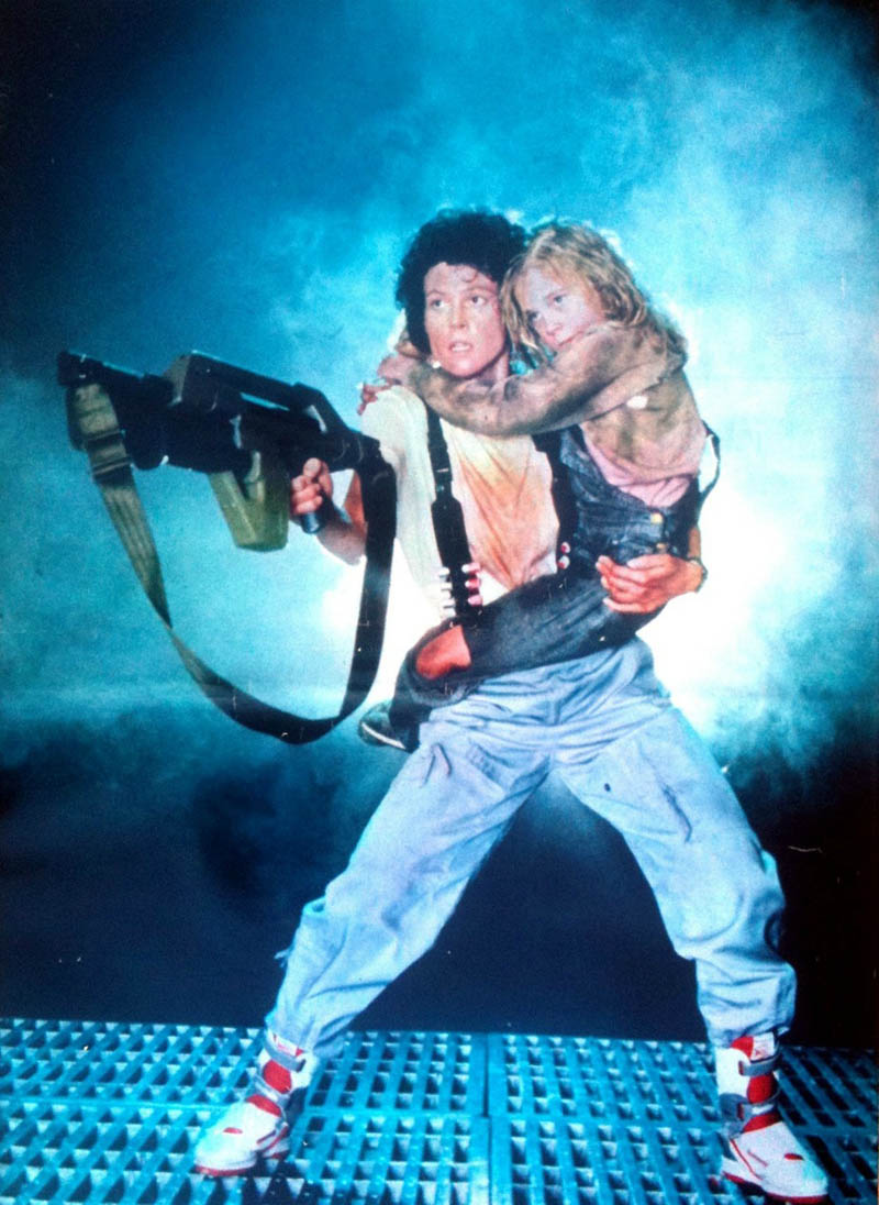 Reebok Stomper - Alien - Sigourney Weaver