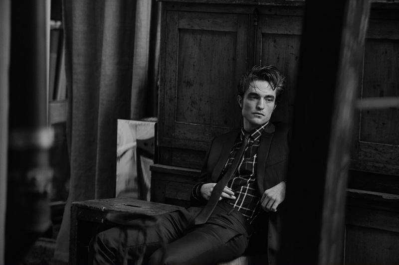 Robert Pattinson - Dior Homme - Peter Lindbergh