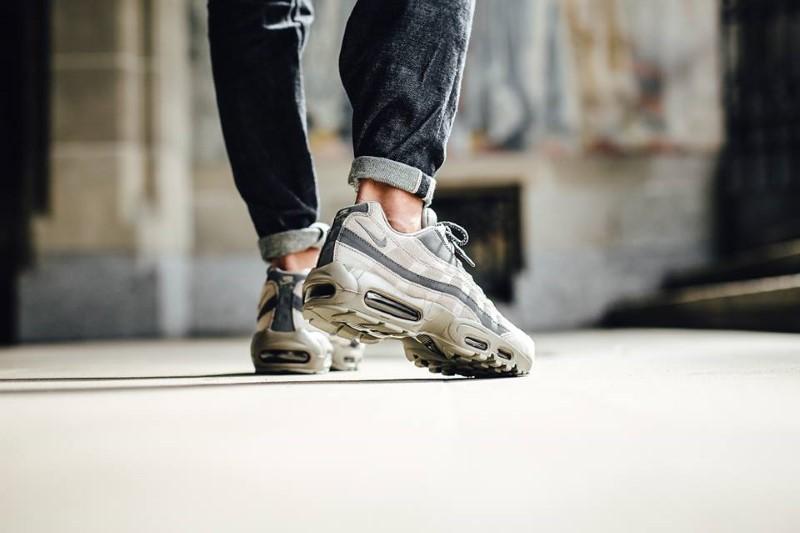 La Classique Nike Air Max 95 S'est Enrichie Avec Le Nouveau