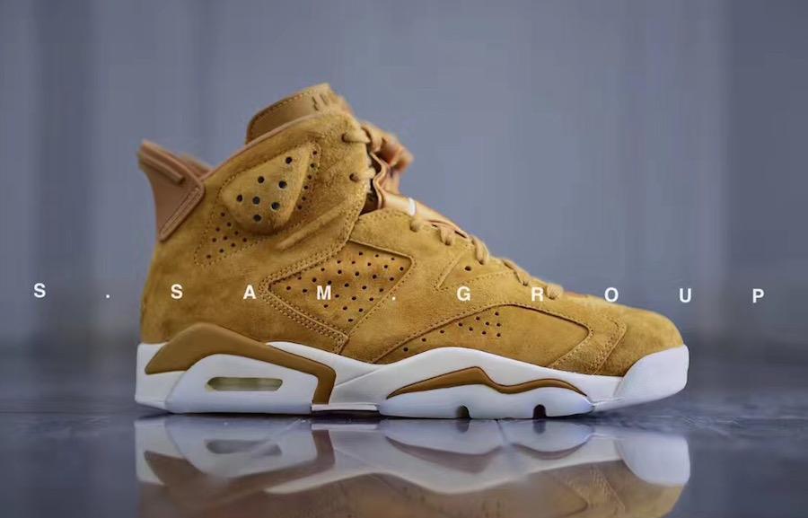 Air Jordan 6 Golden Harvest