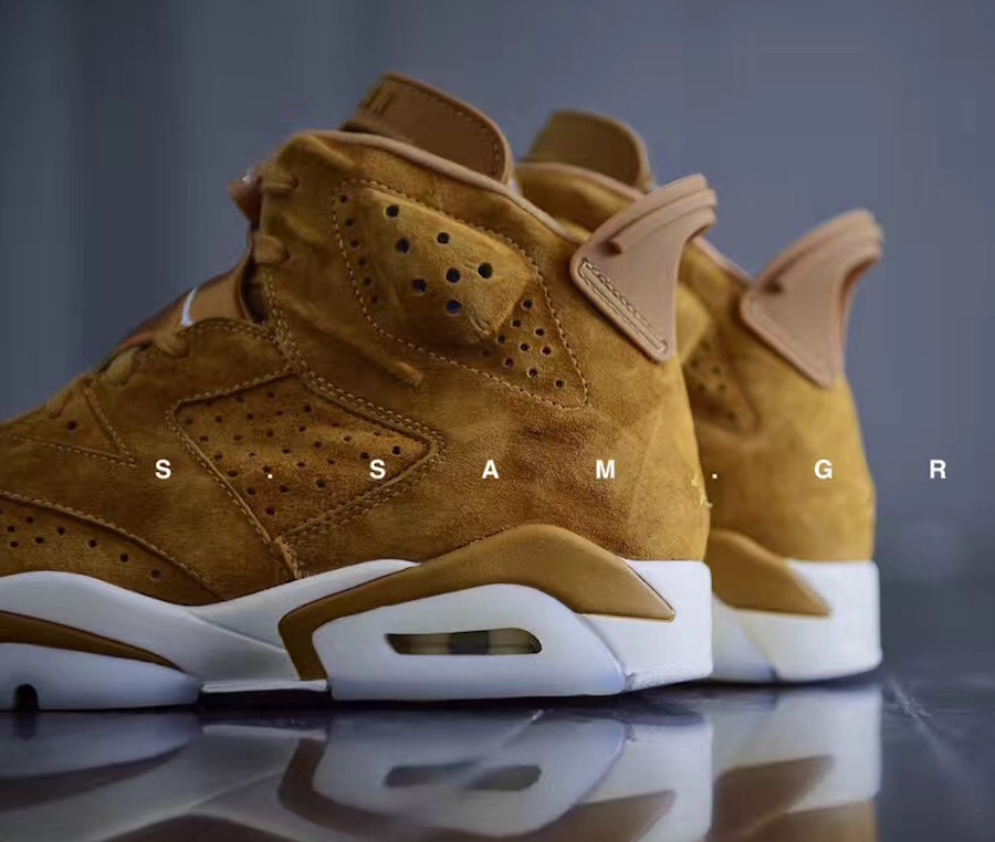 Air Jordan 6 Golden Harvest