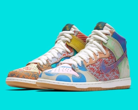 Nike SB What The x Thomas Campbell