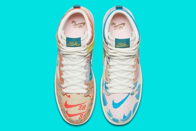 Nike SB What The x Thomas Campbell