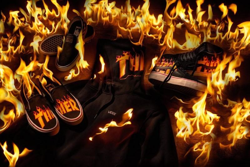 Thrasher x Vans Collection