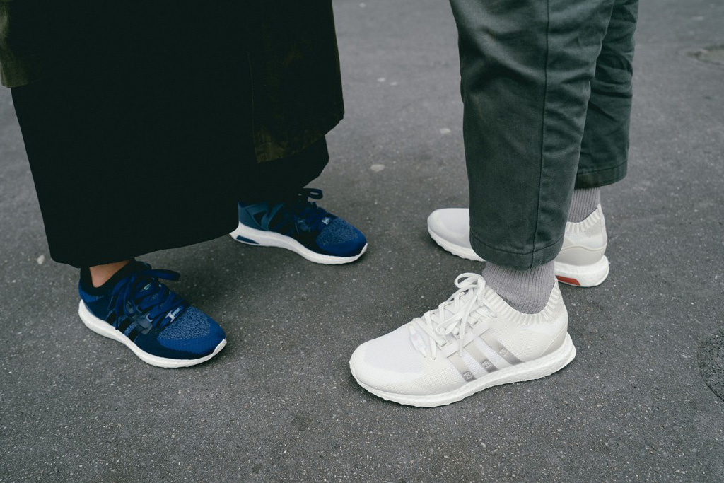 Sneakersnstuff x adidas Originals EQT Materials Pack
