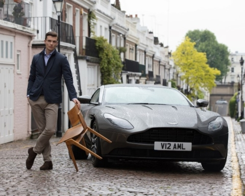 Aston Martin by Hackett Automne/Hiver 2017