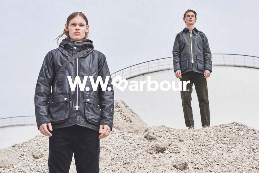 Wood Wood x Barbour