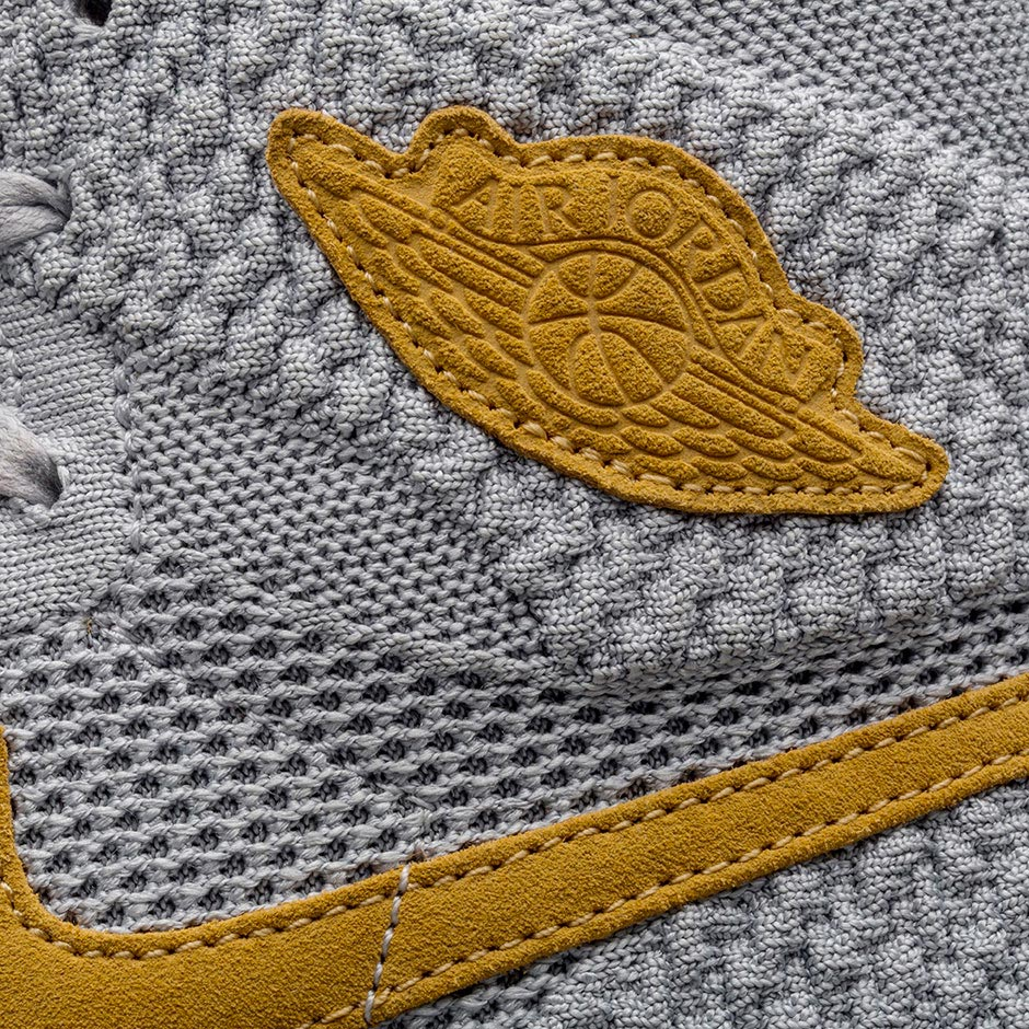 Air Jordan 1 Flyknit Wolf Grey