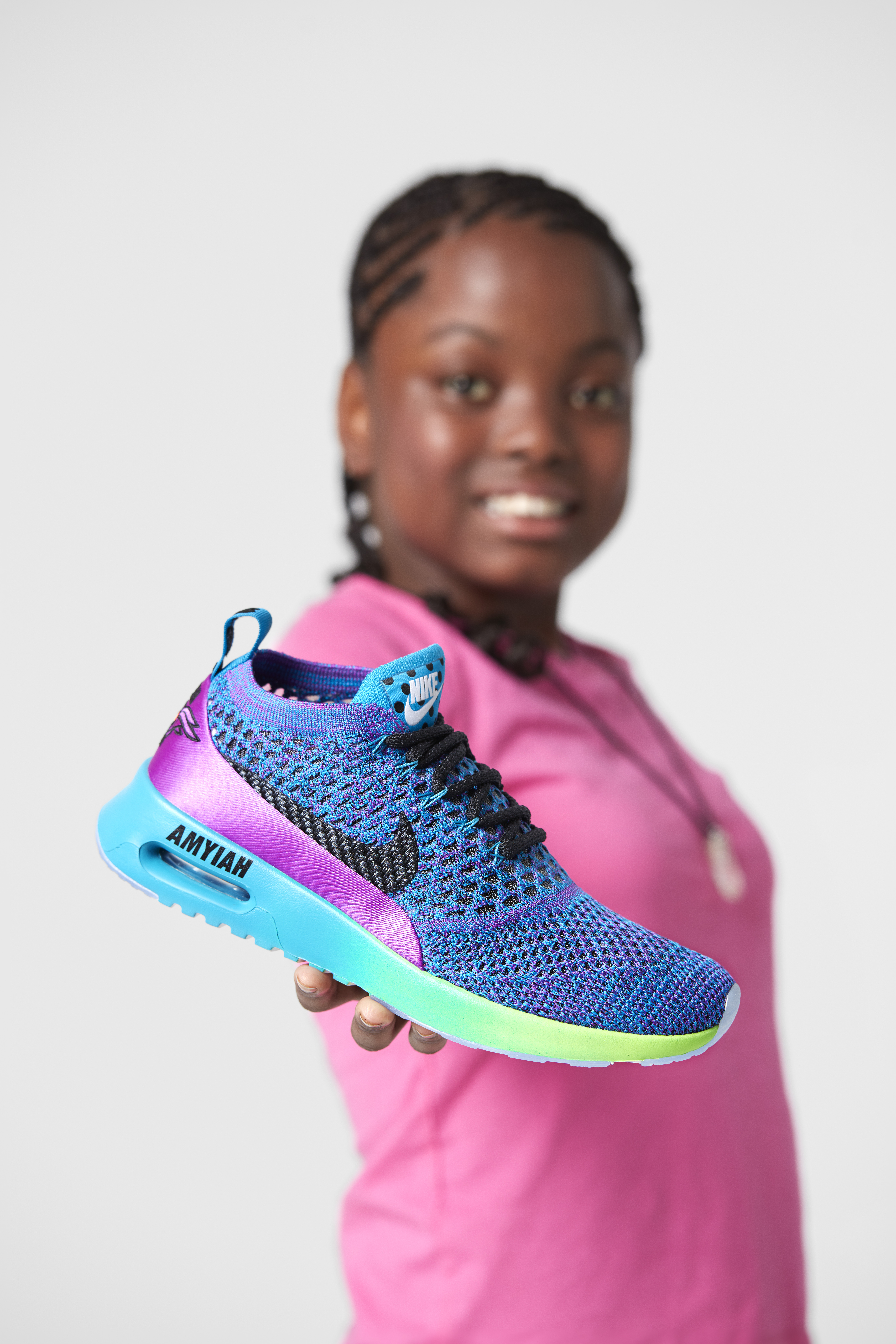 Nike x Doernbecher Freestyle Collection 2017 - Nike Air Max Thea Ultra Flyknit x Amyiah Robinson