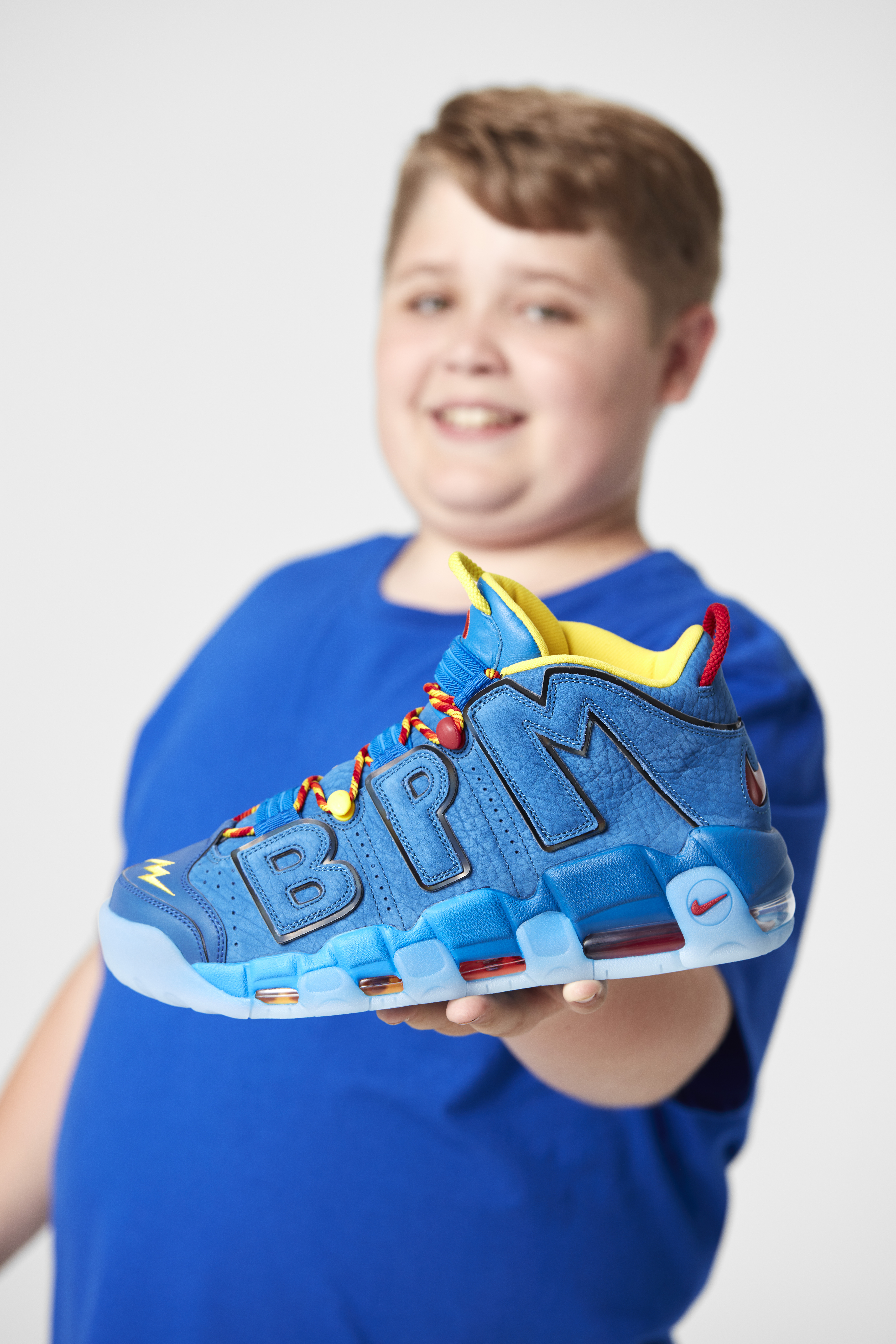 Nike x Doernbecher Freestyle Collection 2017 - Nike Air More Uptempo x Brody Miller