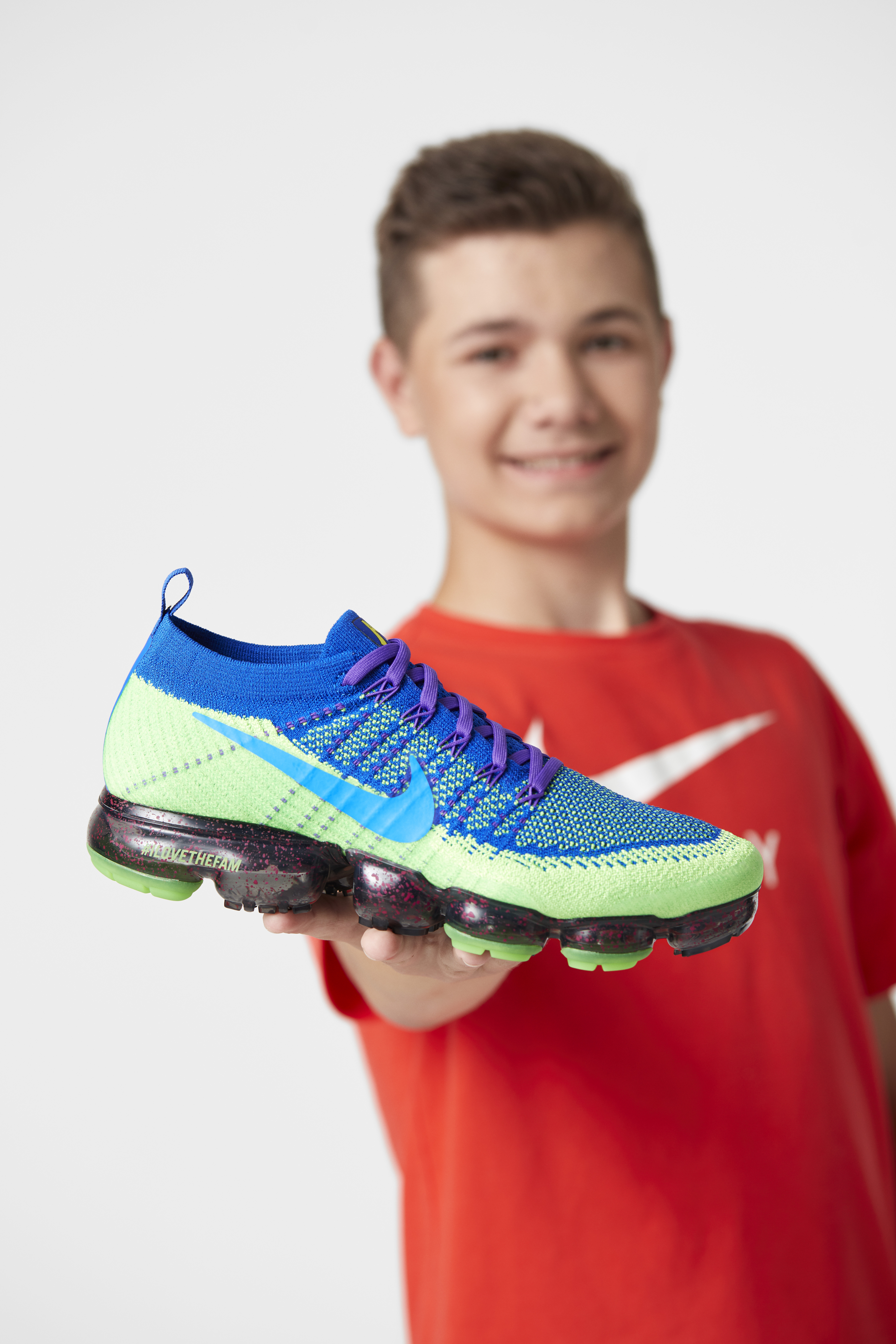 Nike x Doernbecher Freestyle Collection 2017 - Nike Air VaporMax Flyknit x Andrew Merydith
