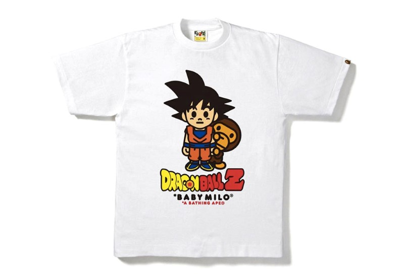 BAPE x Dragon Ball Z Capsule Collection