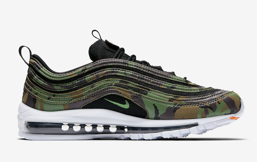 nike air max 97 militaire homme