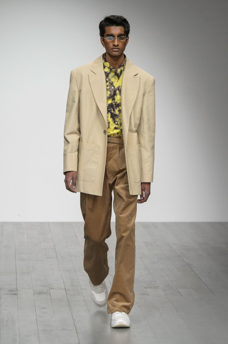Alex Mullins - Fall/Winter 2018 - London Fashion Week Men's