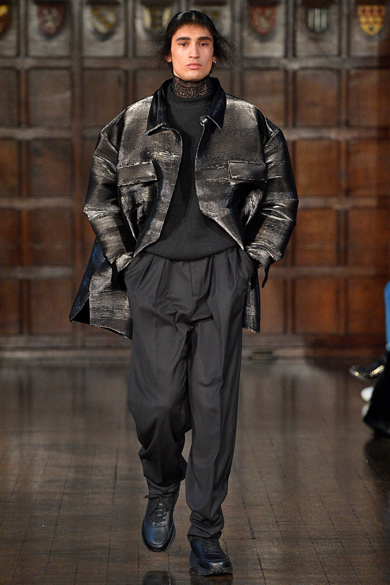 Edward Crutchley - Fall/Winter 2018 - London Fashion Week Men's