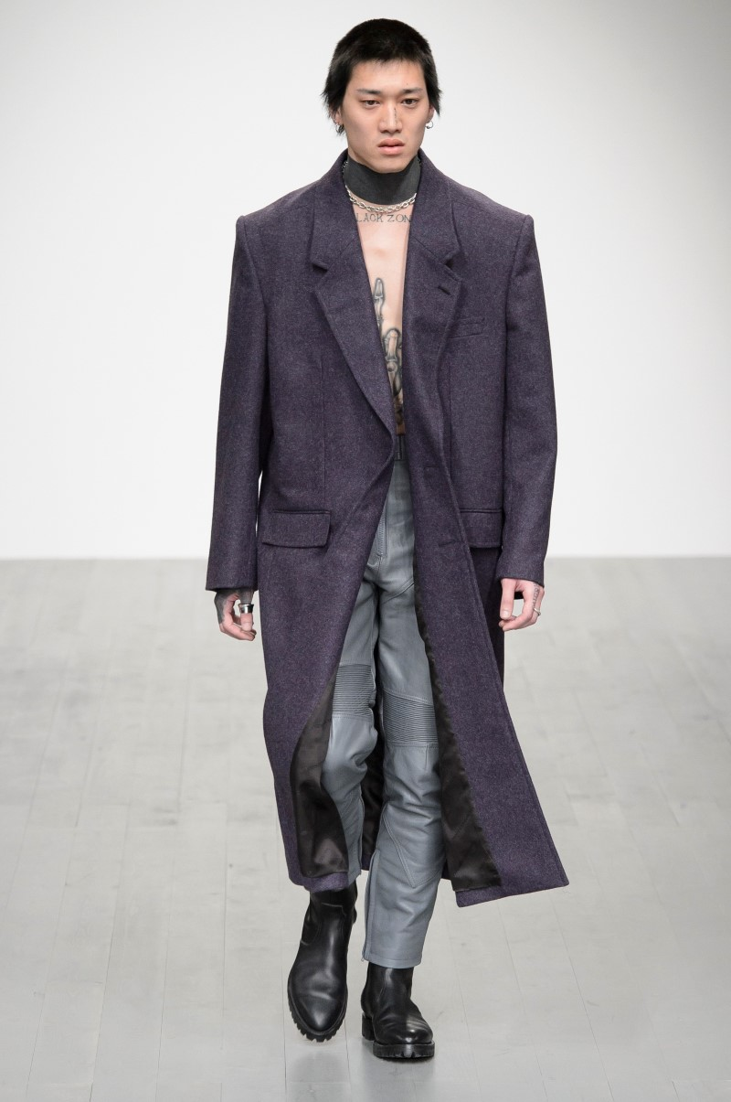 John Lawrence Sullivan Automne Hiver 2018 - London Fashion Week Men's