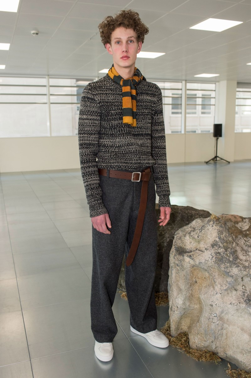 Lou Dalton - Fall/Winter 2018 - London Fashion Week Men's
