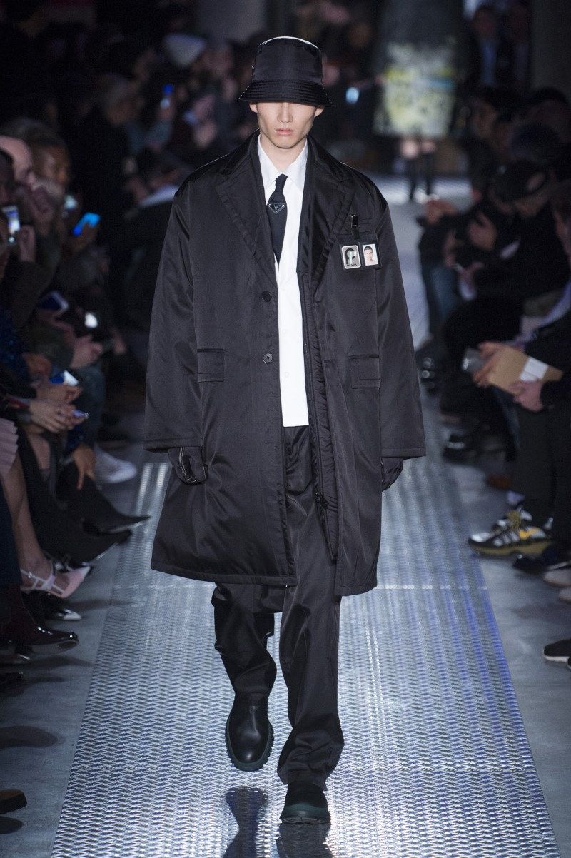 Des Maison De Luxe : Prada automne hiver milan fashion week