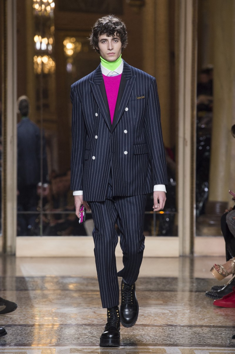 Versace – Automne/Hiver 2018-2019 – Milan Fashion Week