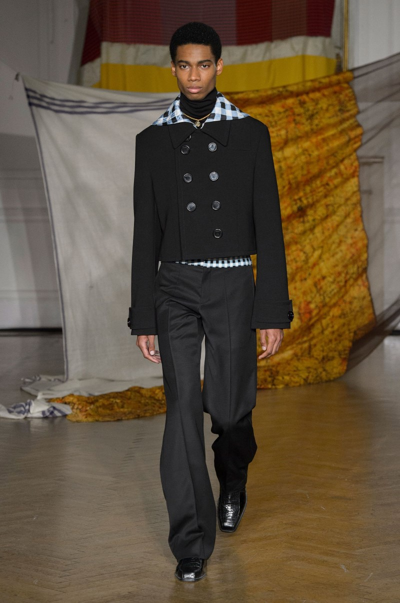 Wales Bonner - Fall/Winter 2018 - London Fashion Week Men's