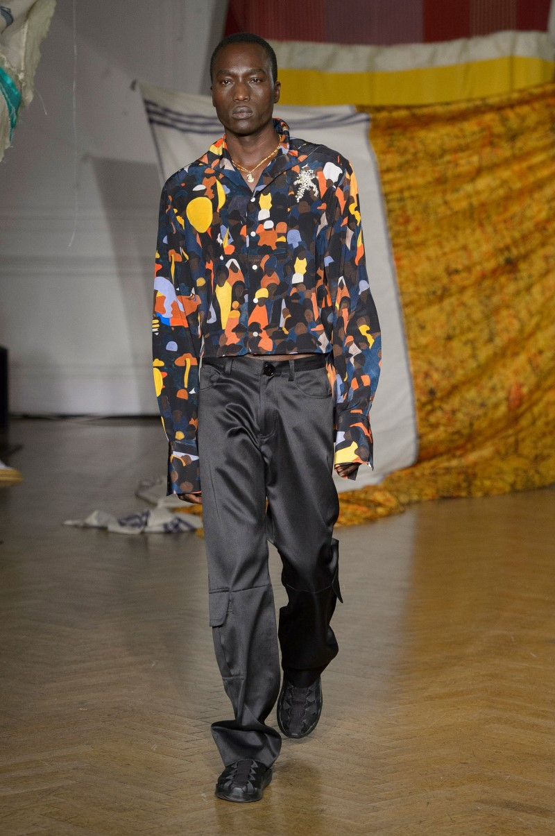 Wales Bonner - Fall/Winter 2018 - London Fashion Week Men's
