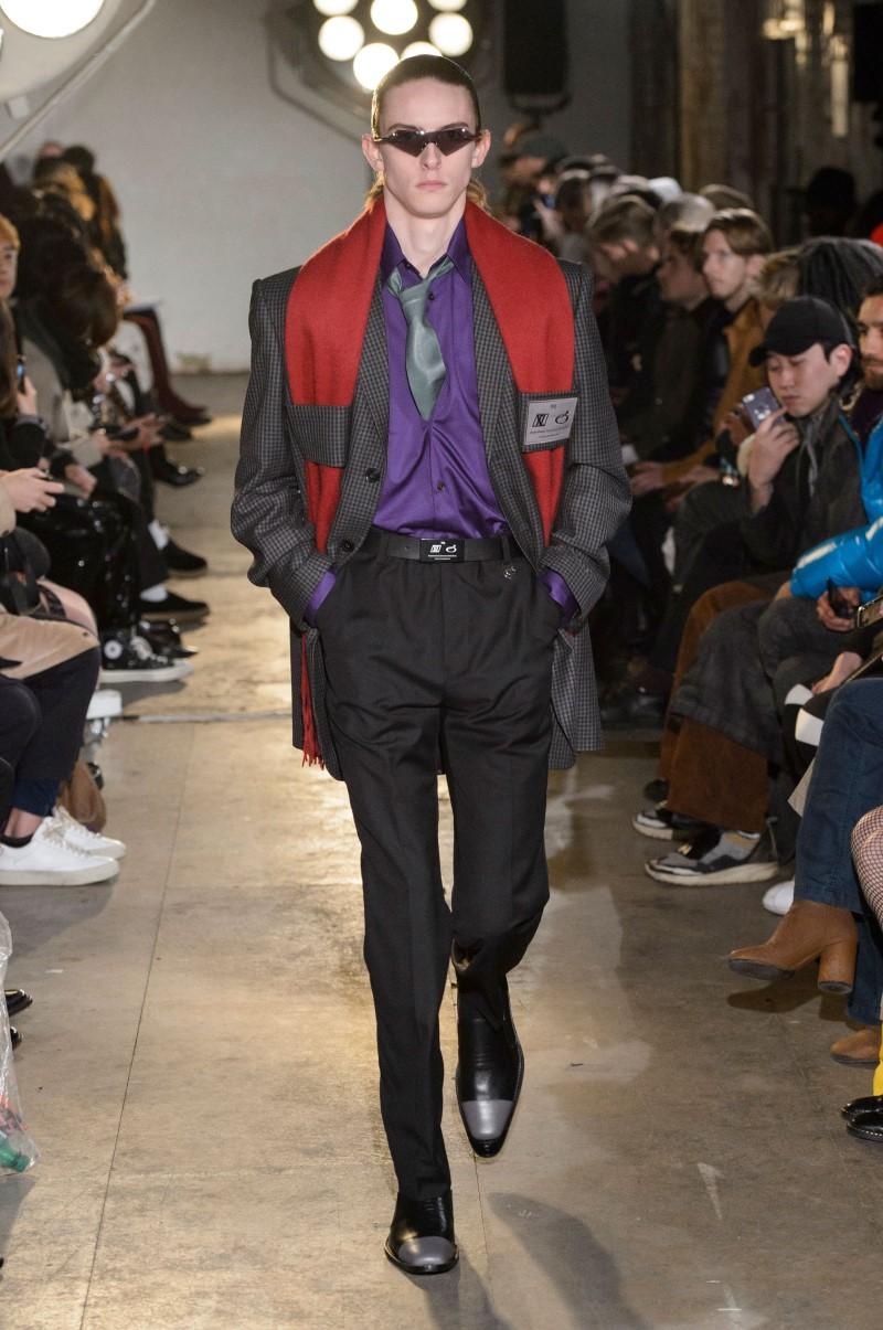 Xander Zhou - Fall/Winter 2018 - London Fashion Week Men's