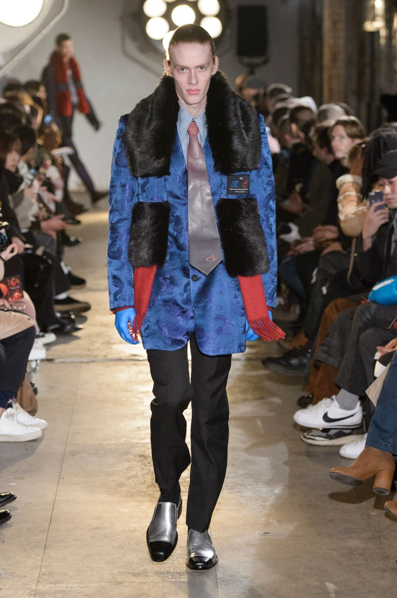 Xander Zhou - Fall/Winter 2018 - London Fashion Week Men's