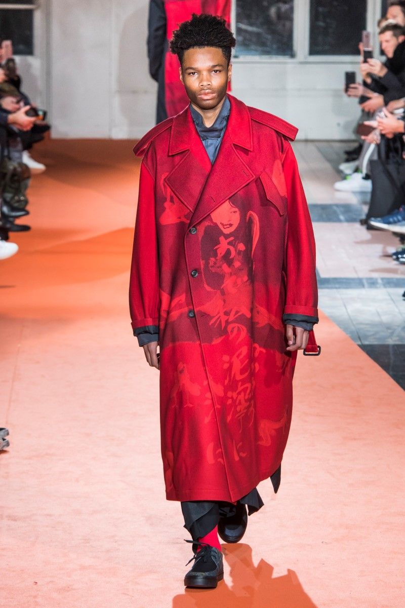 Yohji Yamamoto - Fall/Winter 2018-2019 - Paris Fashion Week