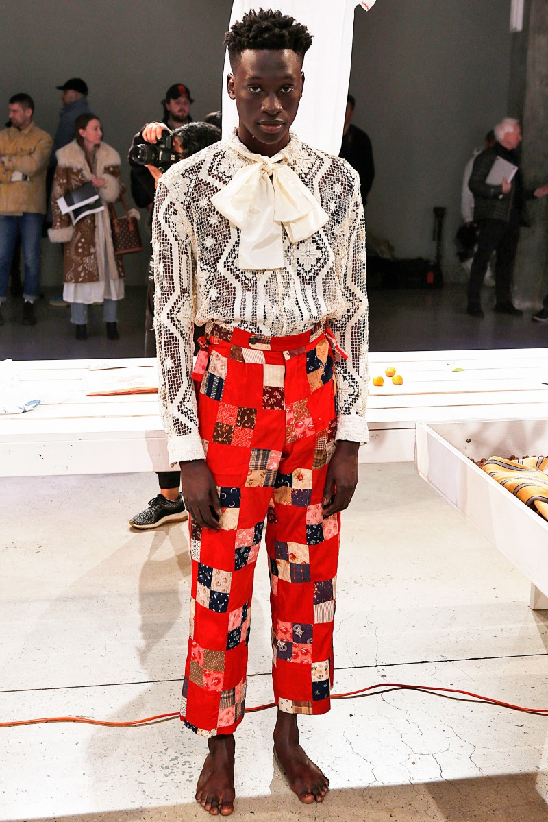 Bode - Fall-Winter 2018-2019 - New York Fashion Week