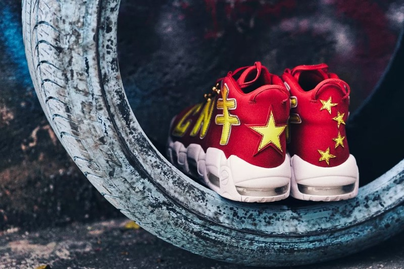 Nike Air More Uptempo CNY The Remade x K.YEE 6