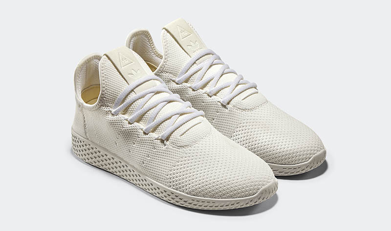 adidas Originals x Pharrell Williams - Hu Holi Blank Canvas - Tennis Hu Pk Blank Canvas