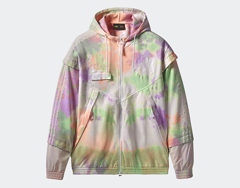 adidas Originals x Pharrell Williams - Hu Holi Powder Dye - Hu Holi FZ Hood