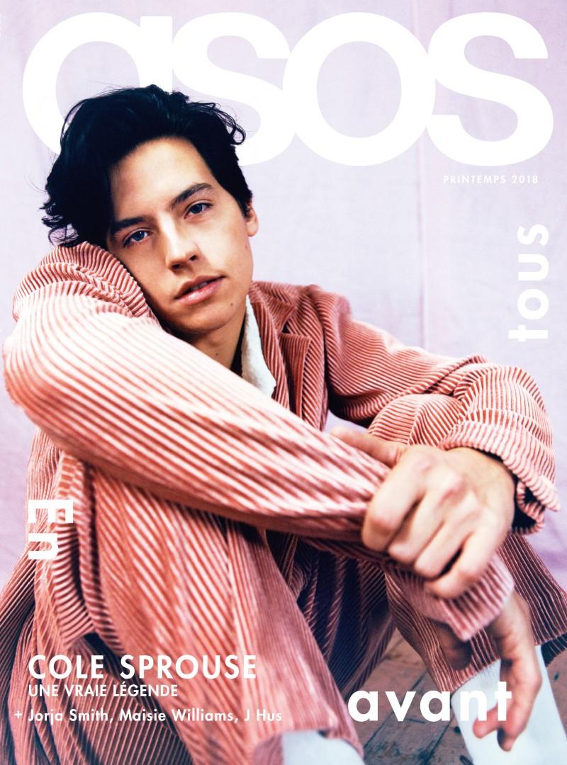 ASOS Magazine 100ème numéro - Cole Sprouse