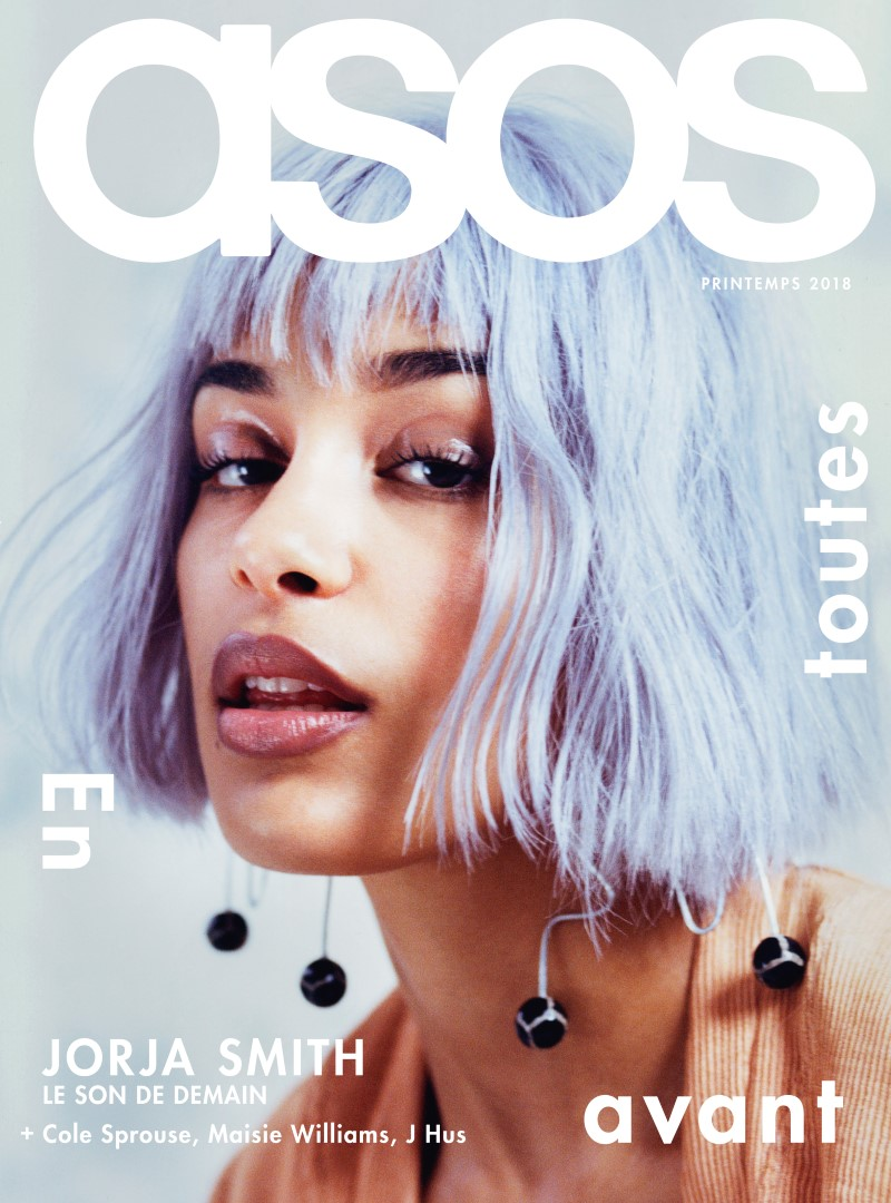 ASOS Magazine 100ème numéro - Jorja Smith