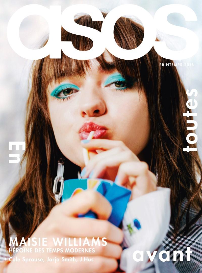 ASOS Magazine 100ème numéro - Maisie Williams