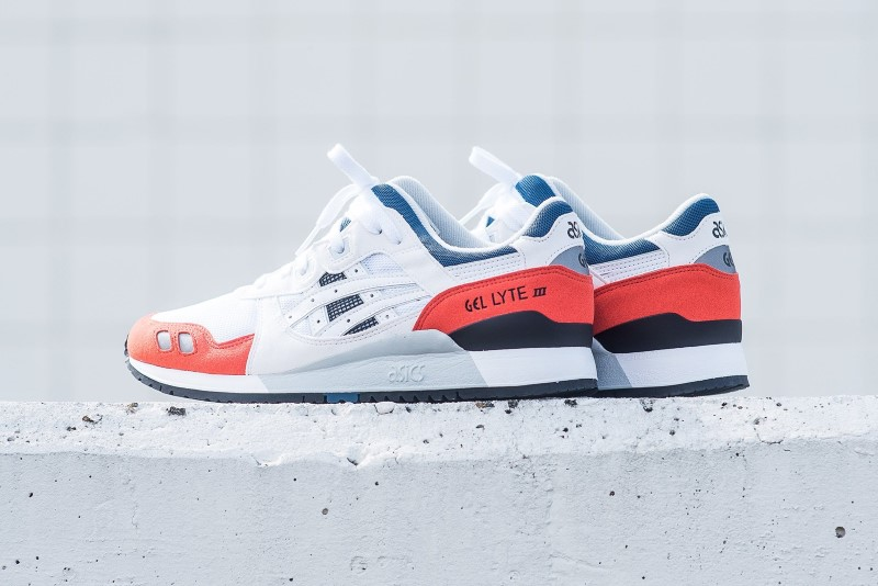 Asics Gel Lyte III Orange Blue