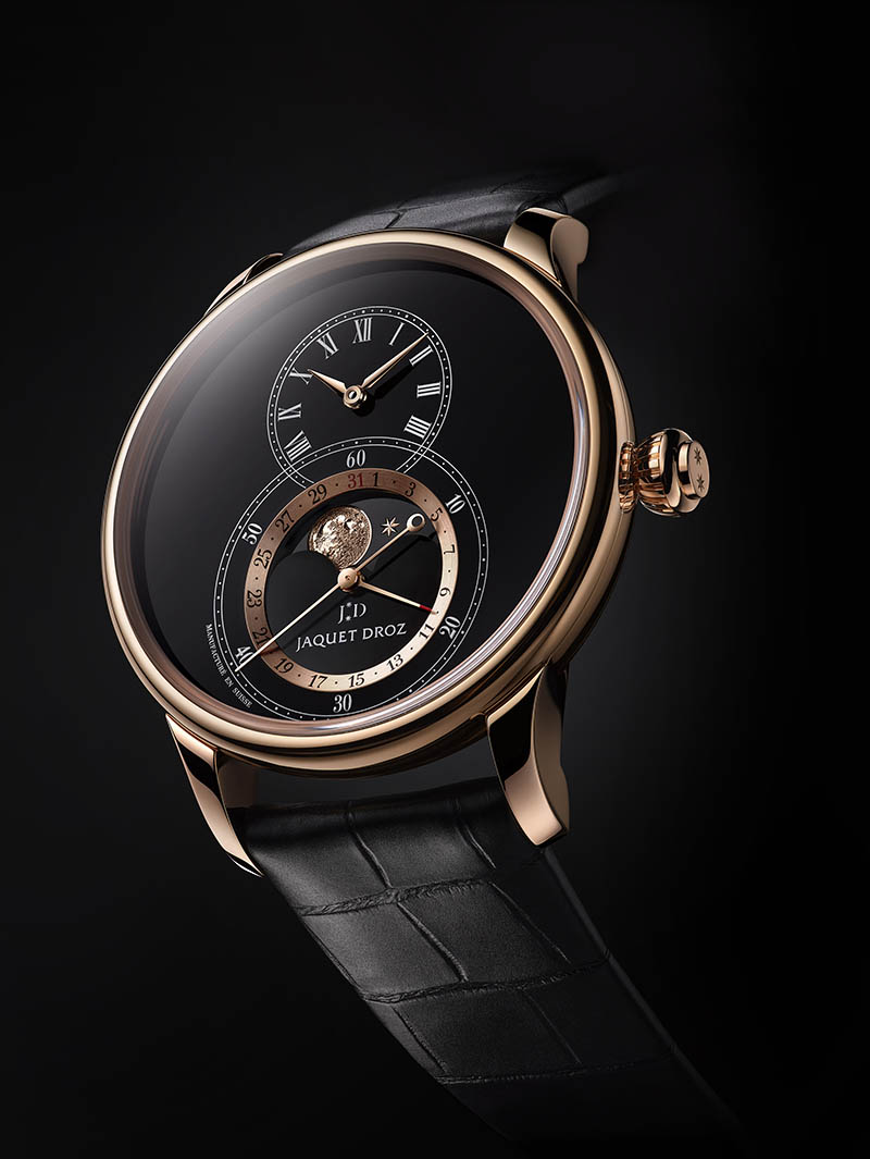 Jaquet Droz - Grande Seconde Moon Émail Noir