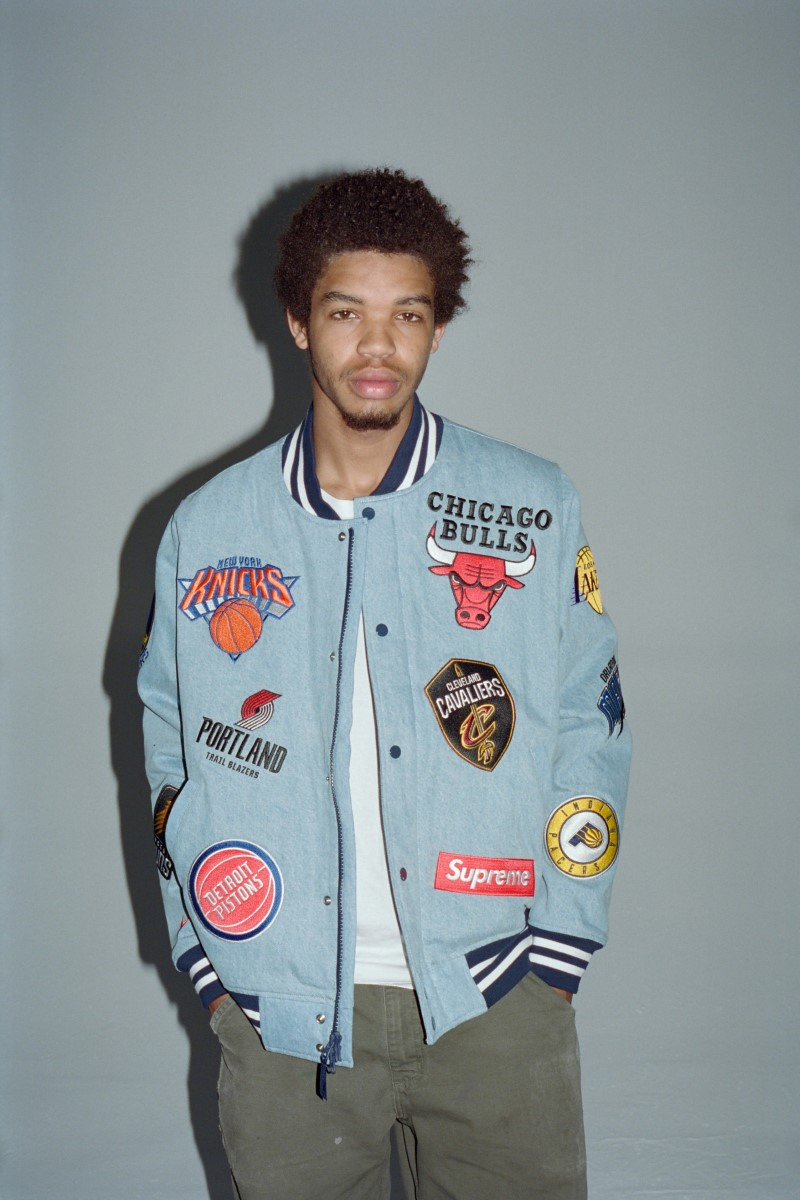 Supreme x Nike x NBA Collection Logo