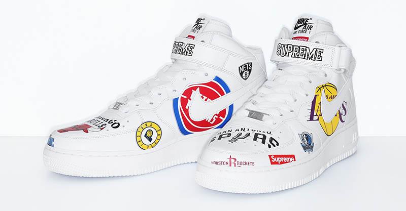 Supreme x Nike x NBA Collection Logo